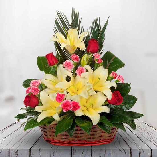 خريداينترنتي سبد گل طراوت همین امروز تهران
