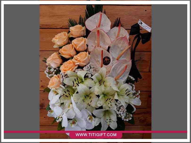 تحویل سفارش گل در زنجان