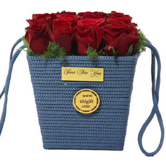 خرید اینترنتی باکس گل رز گلبو تهران