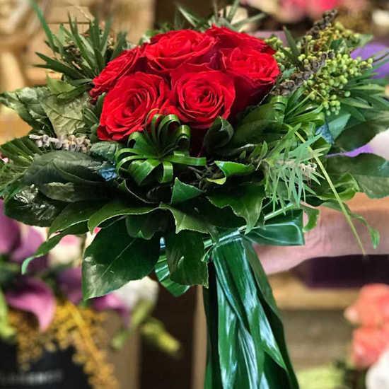 خرید دسته گل رز تابان تهران