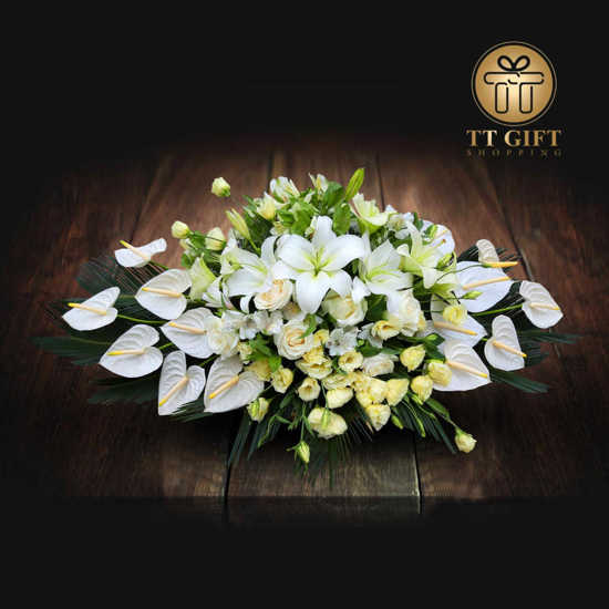 خرید آنلاین سبد گل