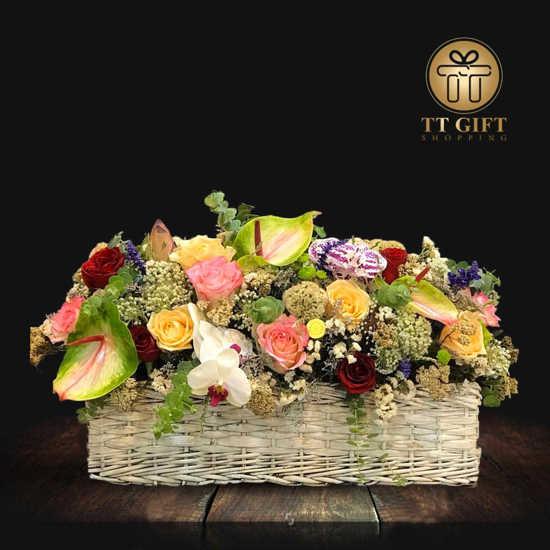 خرید سبد گل در ایران