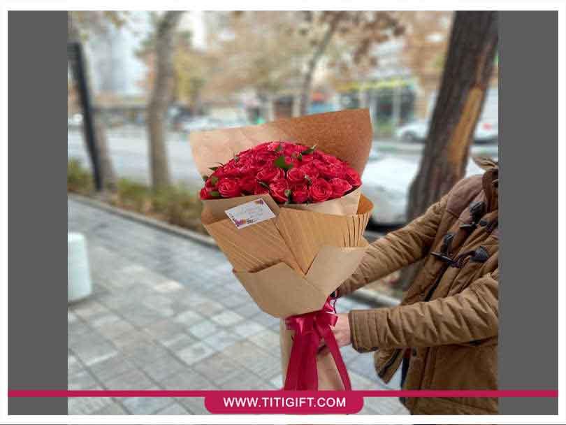 تحویل سفارش گل در مشهد و خراسان رضوی