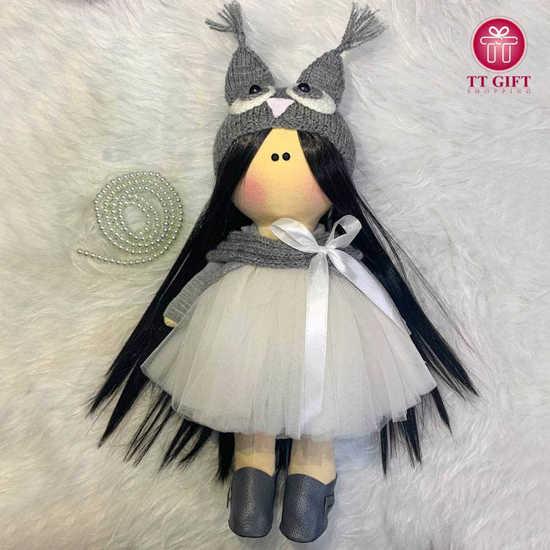 خرید آنلاین عروسک دامن توری سلینا