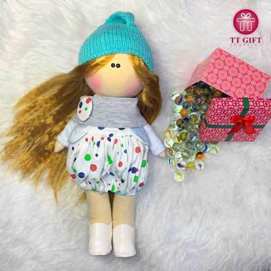خرید عروسک کلاه آبی هیوا