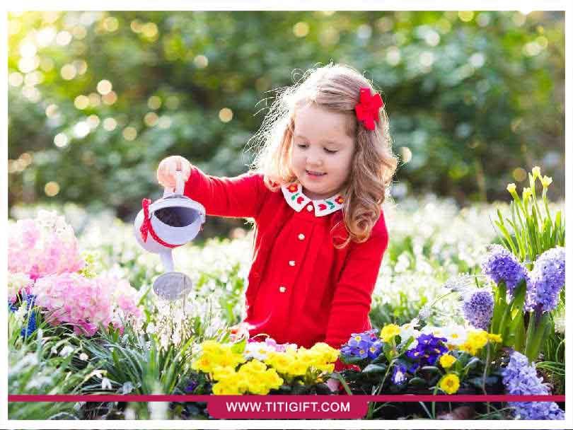 نقش گل و گیاه در رشد کودک